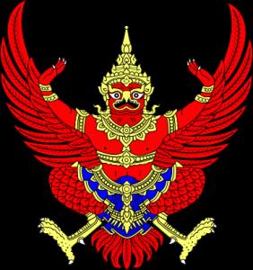 Garuda, le blason de la Thailande
