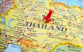 carte routière thaïlande